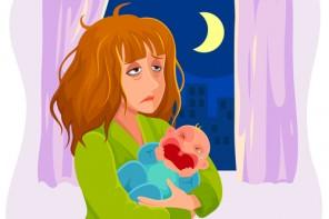 Nervii și depresia post-bebe: cum fac să scap cu viață?