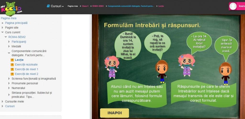 mykoolio rom cl 4 lectie