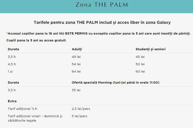 preturi therme palm adulti