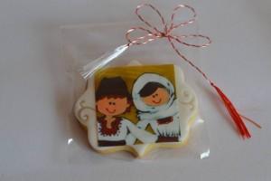 Biscuiti cu unt, decorati cu print comestibil 2 - 4 lei