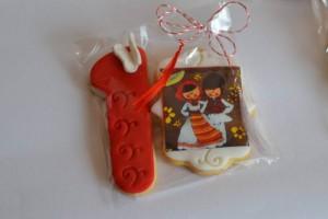 Biscuiti cu unt, decorati cu print comestibil - 6 lei
