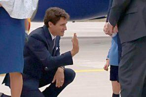 Când un prinț de trei ani nu bate palma cu un premier…