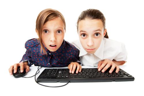 copii computer și viziune