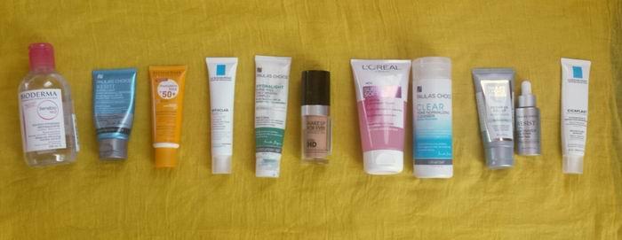 Produse pentru ingrijirea tenului acneic