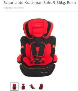reducere scaun auto emag