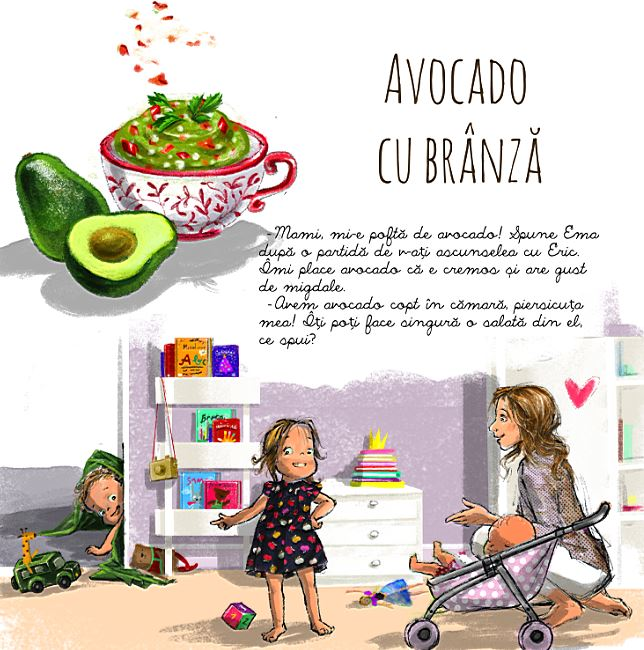 salata cu avocado Mami e gata