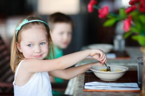 La restaurant cu copiii