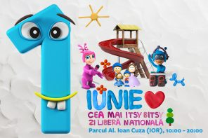 1 iunie în parc cu copiii