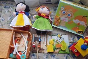 13 jocuri și jucării din lemn și materiale naturale (p)