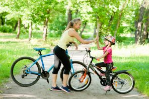 Cât i-a luat Sofiei să învețe să meargă pe bicicletă?