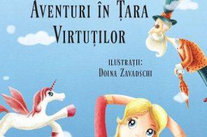 Aventuri în Țara Virtuților, noua carte de Alec Blenche