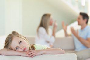 E bine să ne certăm de față cu copiii?