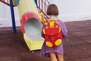 Sofia a început școala, iar mama ei a început plânsul