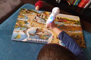 Creionul vorbitor și cărțile interactive, colecție educativă cu magnet la copii
